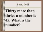 board drill42