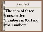 board drill44