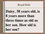 board drill45