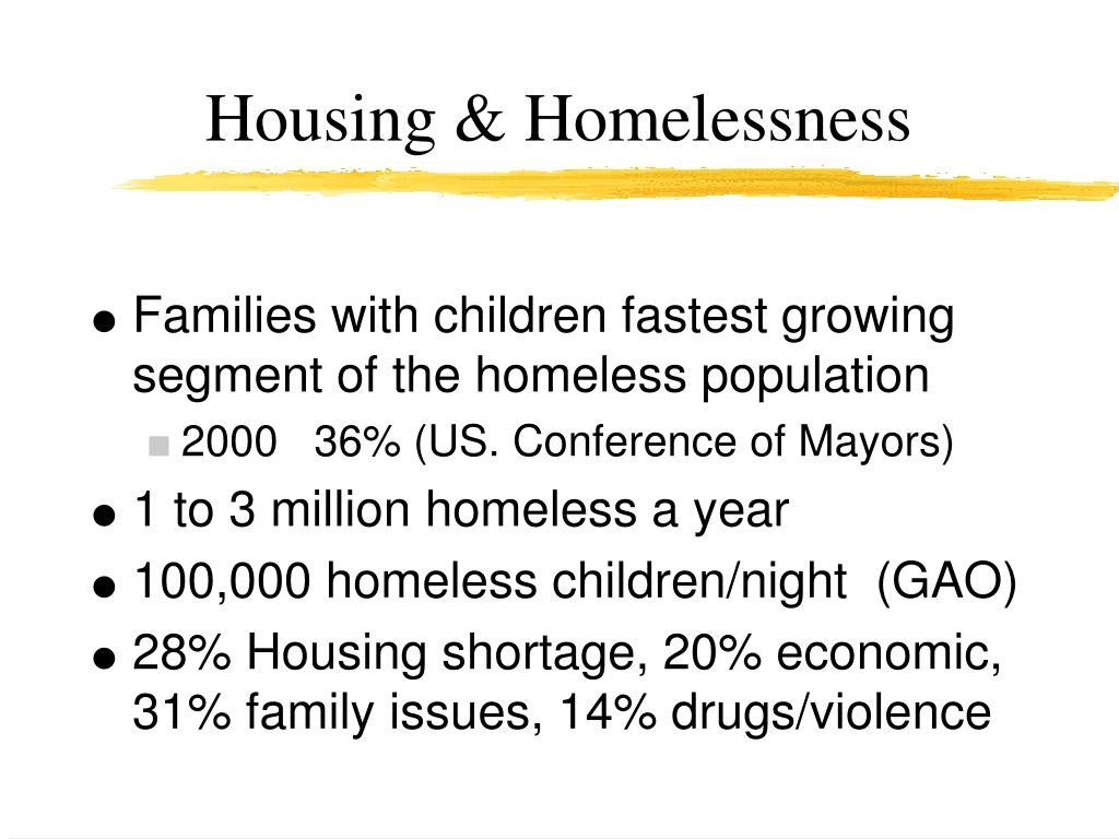 Housing & Homelessness