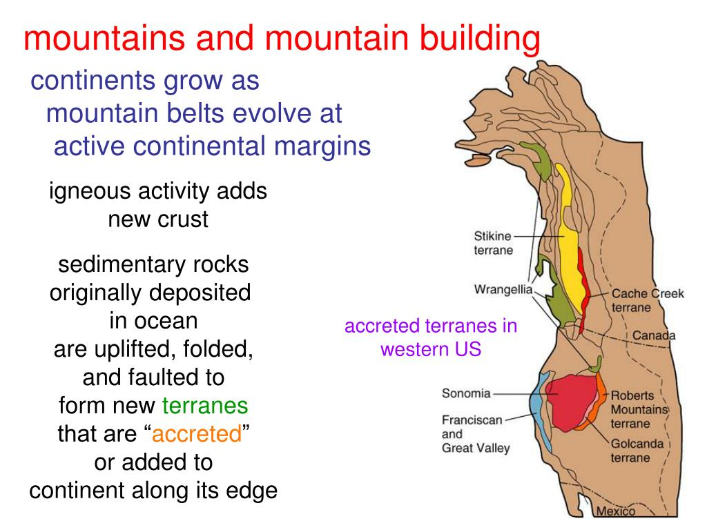 mountains and mountain building