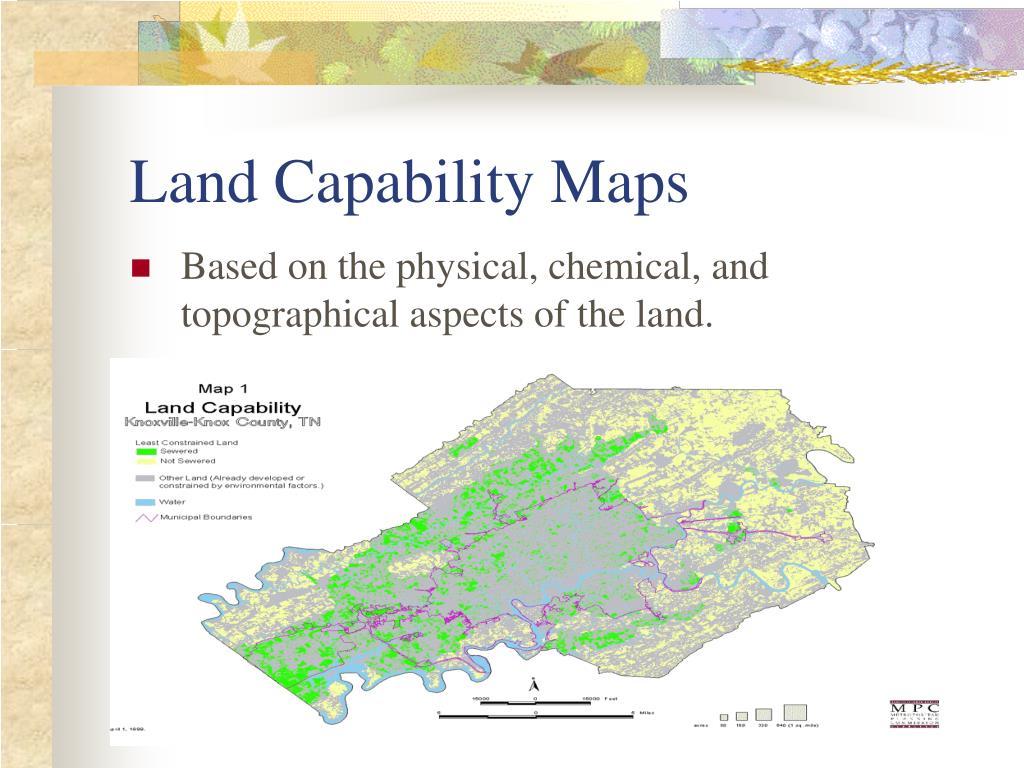 Land Capability Maps