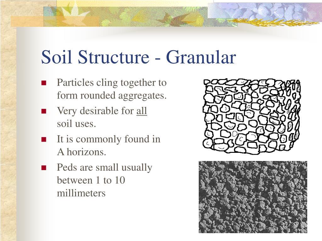 Soil Structure - Granular