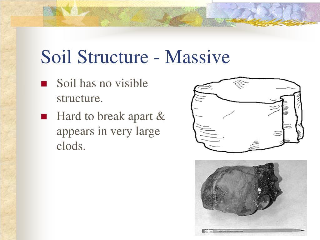 Soil Structure - Massive