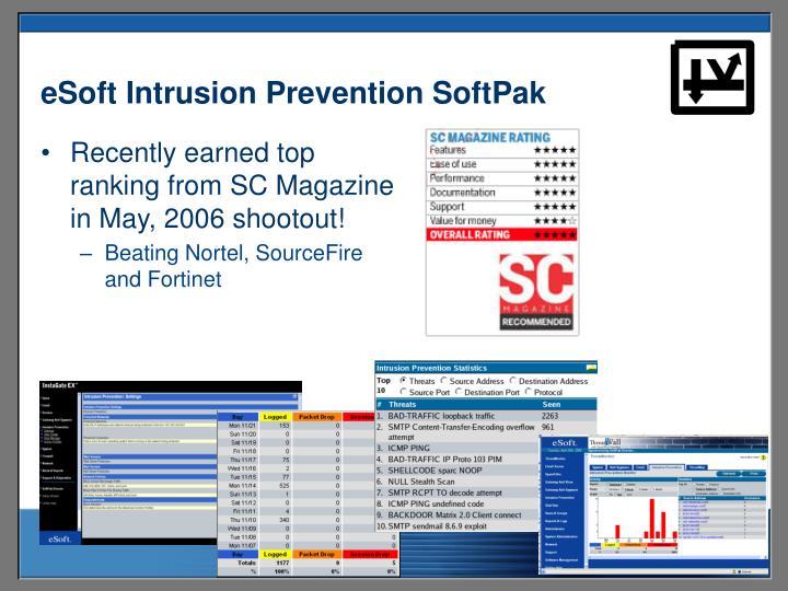 eSoft Intrusion Prevention SoftPak