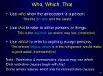who which that
