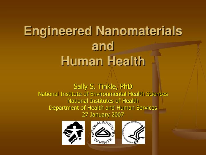 engineered nanomaterials A major obstacle in the development of accurate cellular models for investigating  nanobio interactions in vitro is determination of physiologically relevant.
