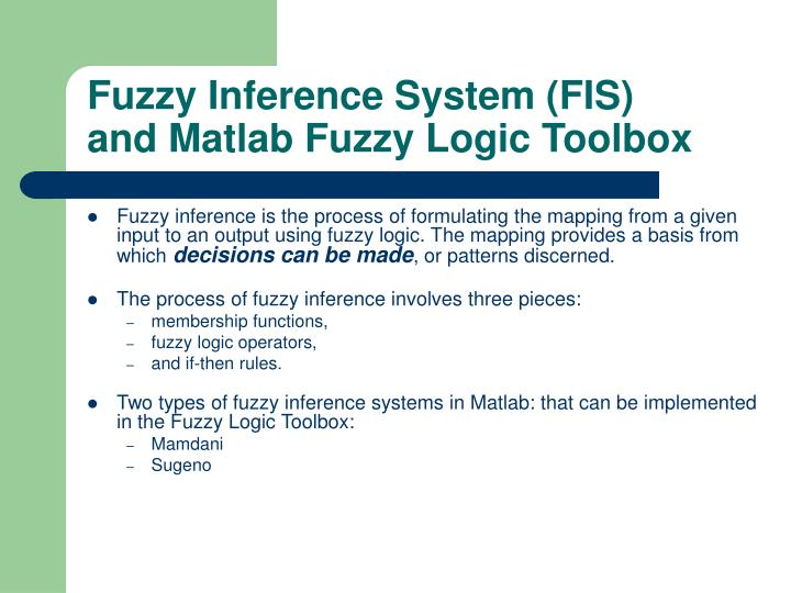 Fuzzy Logic Toolbox