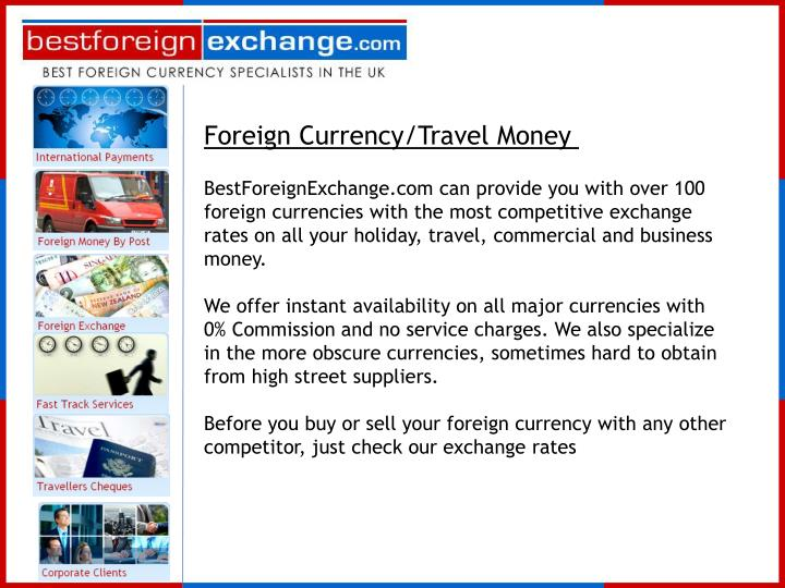 Foreign Currency/Travel Money