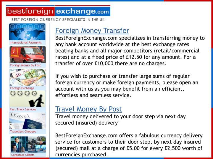 Foreign Money Transfer