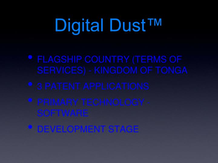Digital Dust™