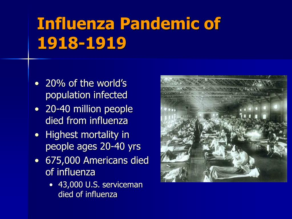 the causes and effects of an epidemic of influenza in 1918 The lethal influenza pandemic that struck new zealand between october and december 1918 killed about 9000 people in two months no other event has claimed so many new.