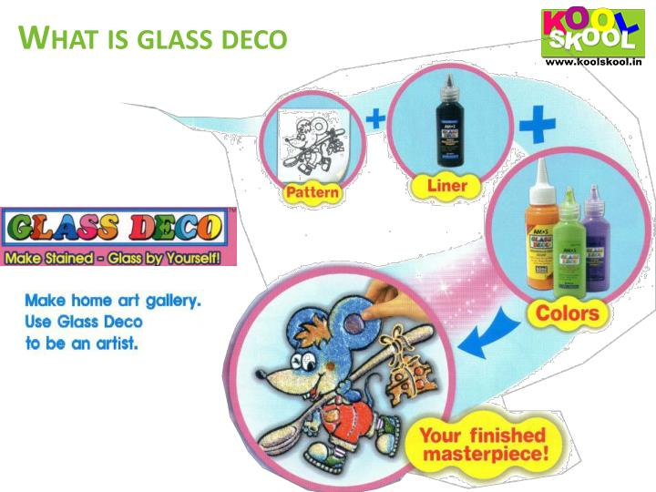 What is glass deco