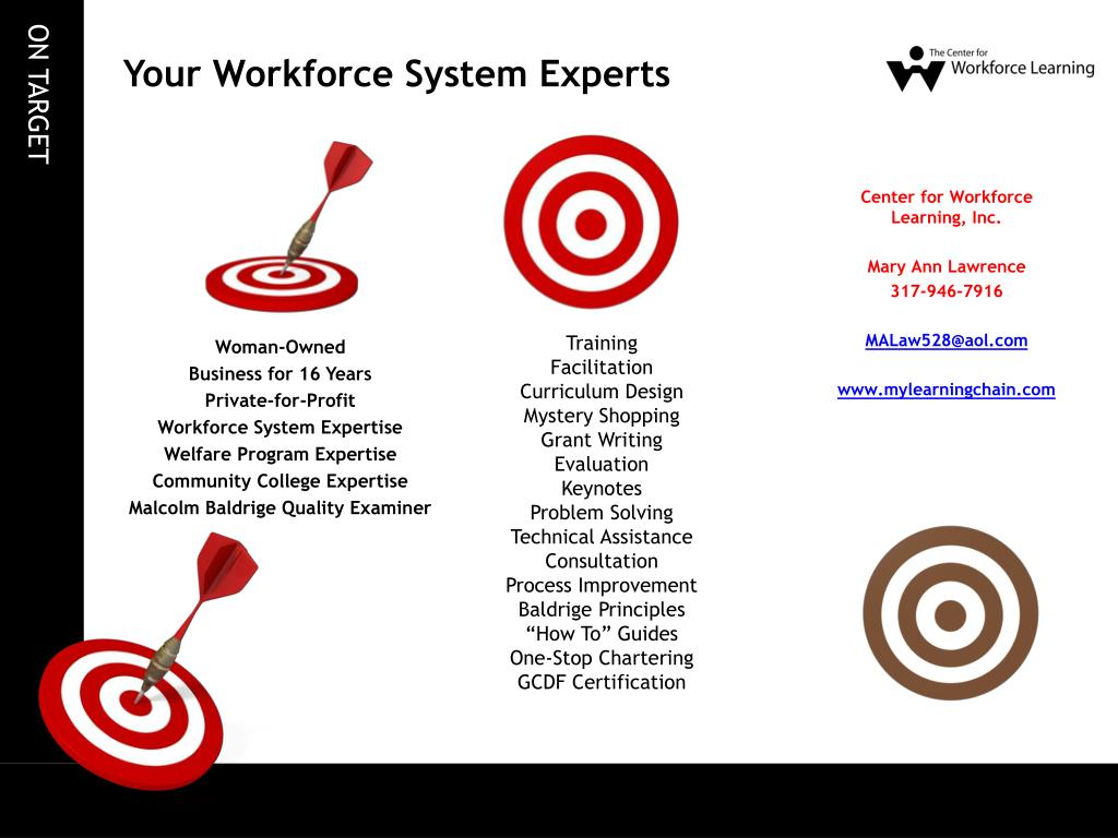 Your Workforce System Experts