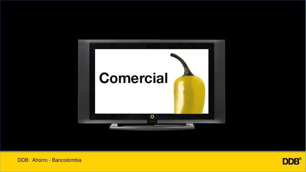 DDB:  Ahorro - Bancolombia
