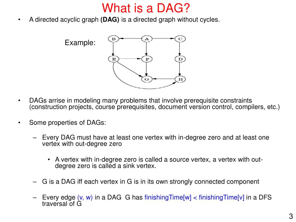 What is a DAG?