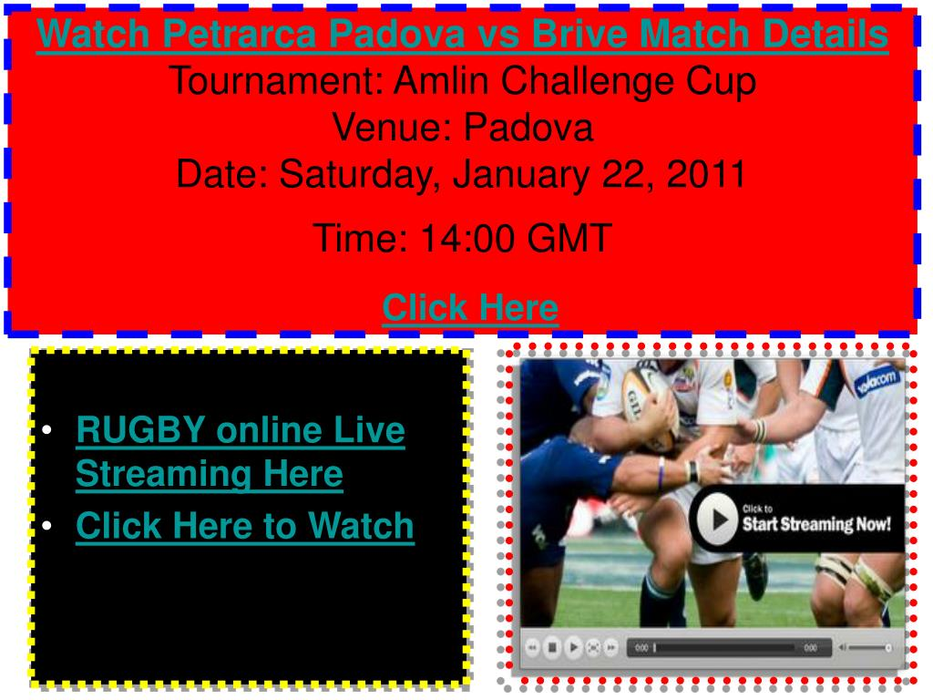 Watch Petrarca Padova vs Brive Match Details