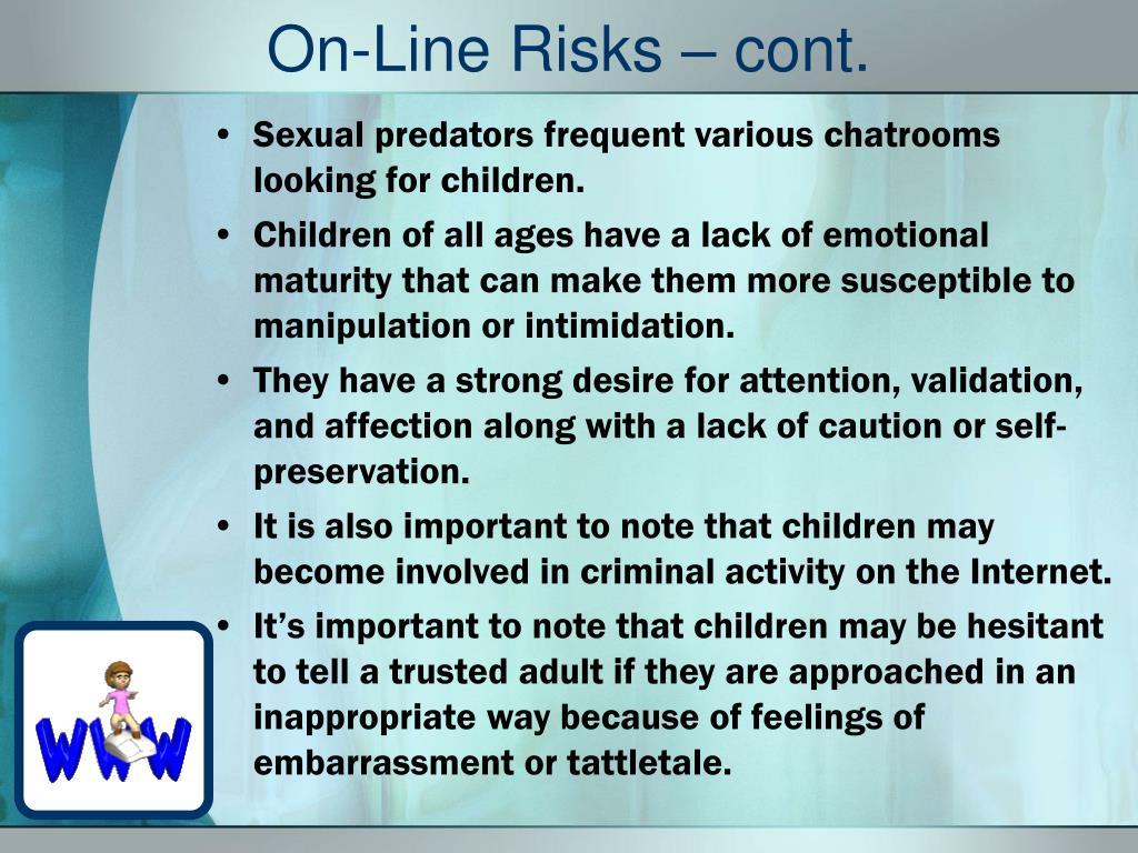 On-Line Risks – cont.