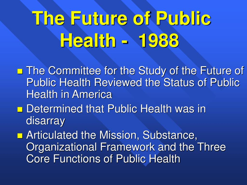The Future of Public Health Nursing: An Update on Standards and Credentialing