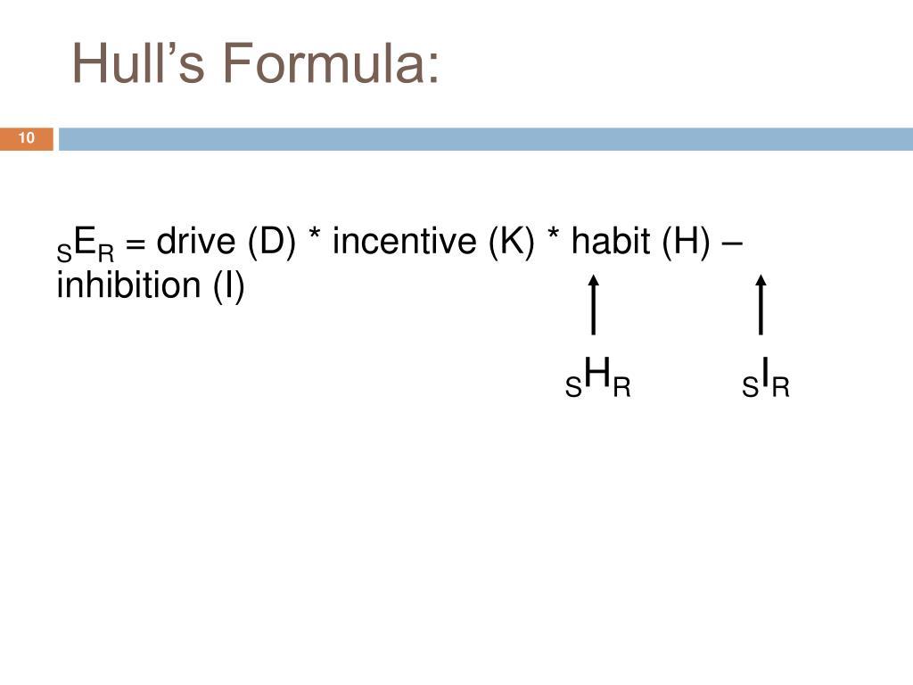 Hull's Formula: