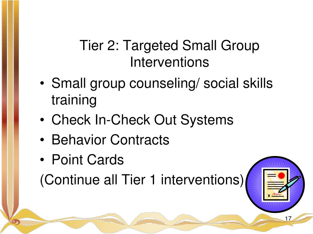 Tier 2: Targeted Small Group Interventions