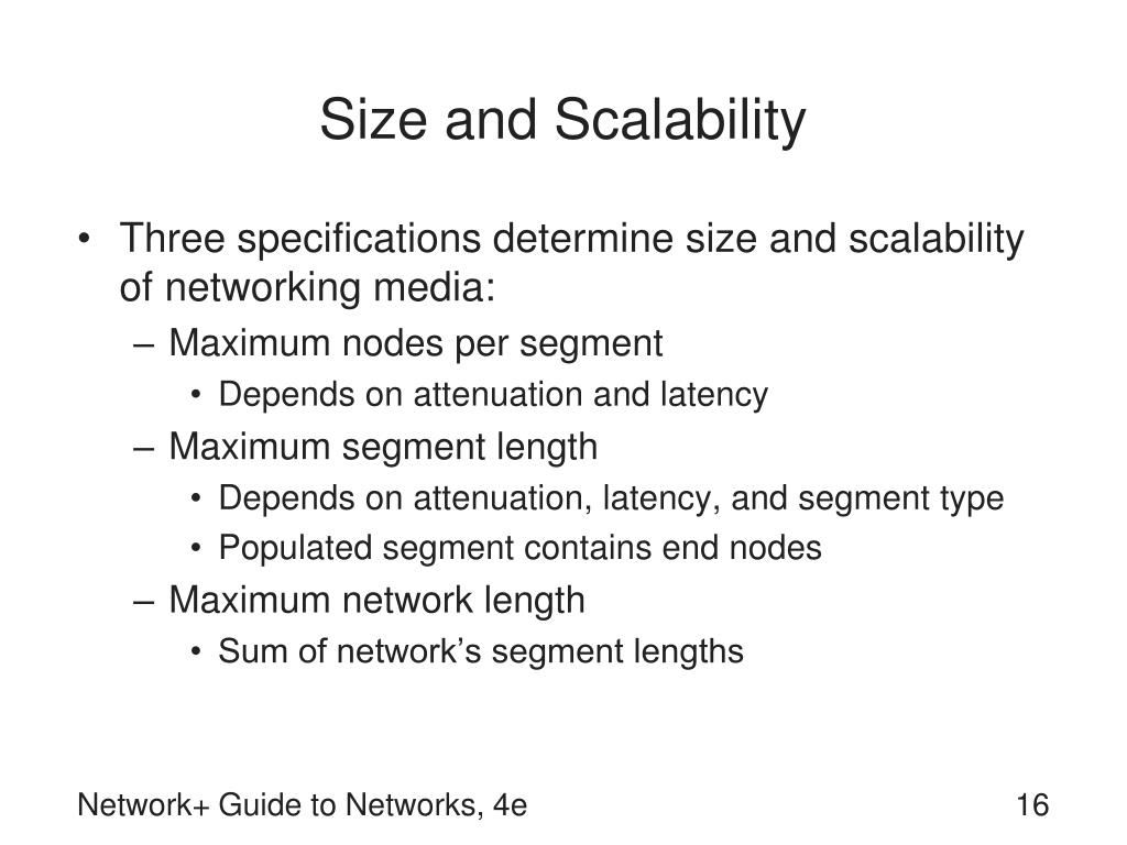Size and Scalability