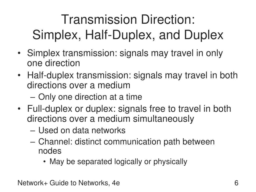 Transmission Direction: