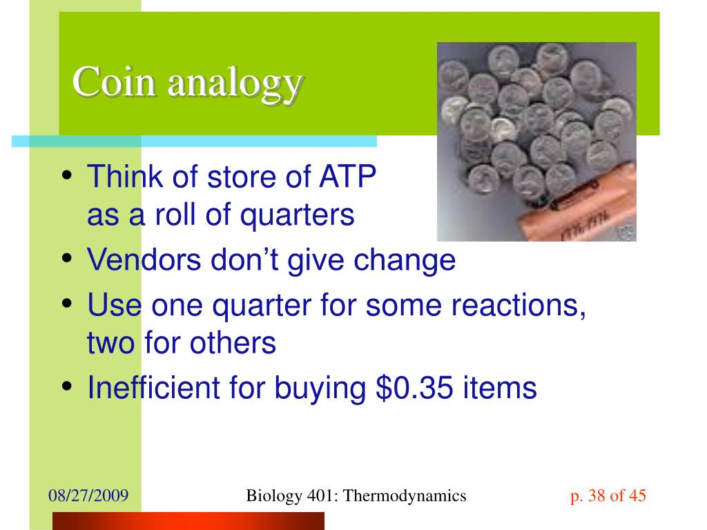 Coin analogy