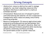 driving concepts