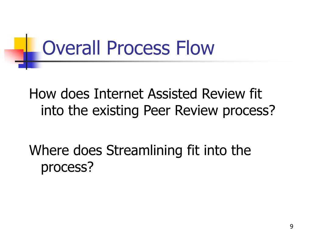 Overall Process Flow