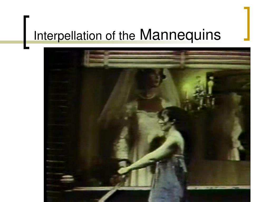Interpellation of the