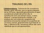 traumas del rn8