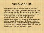 traumas del rn9