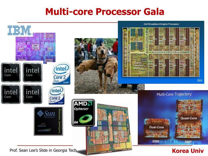 Multi-core Processor Gala