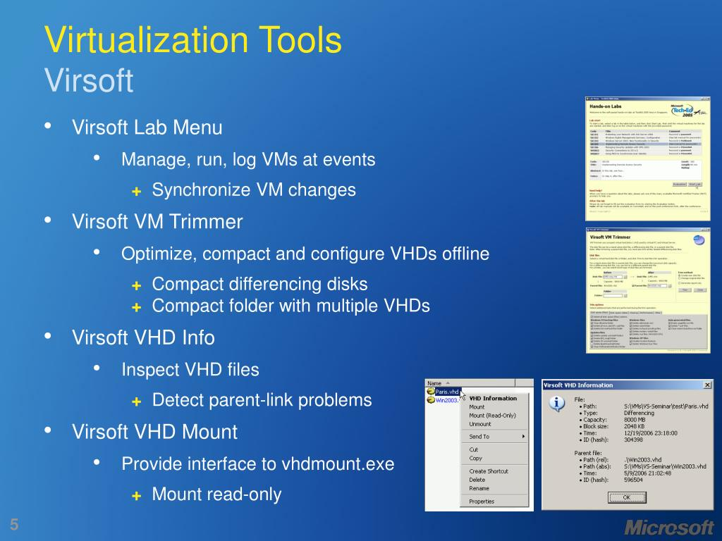 Virtualization Tools