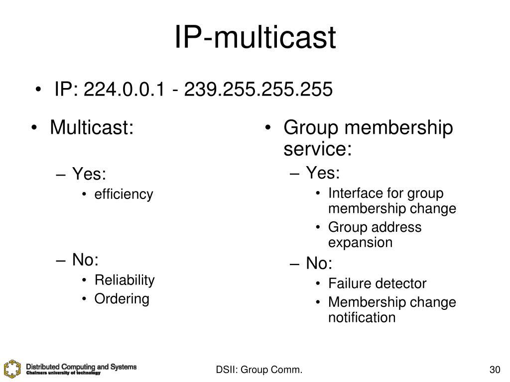 Multicast: