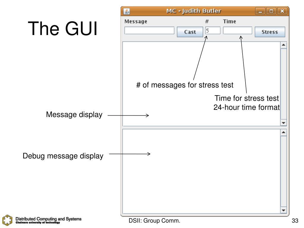 The GUI