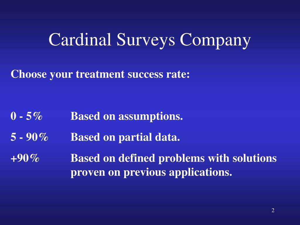 Cardinal Surveys Company