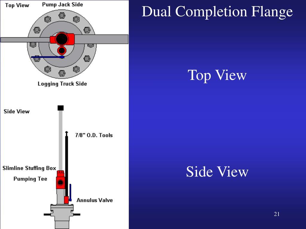 Dual Completion Flange