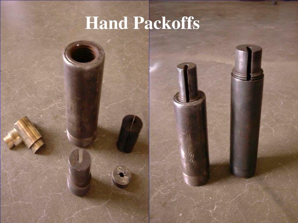 Hand Packoffs