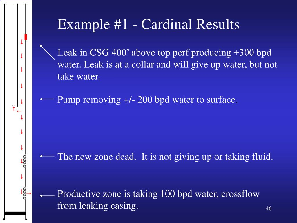 Example #1 - Cardinal Results