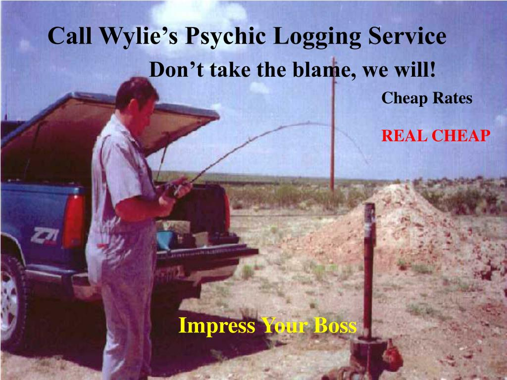 Call Wylie's Psychic Logging Service