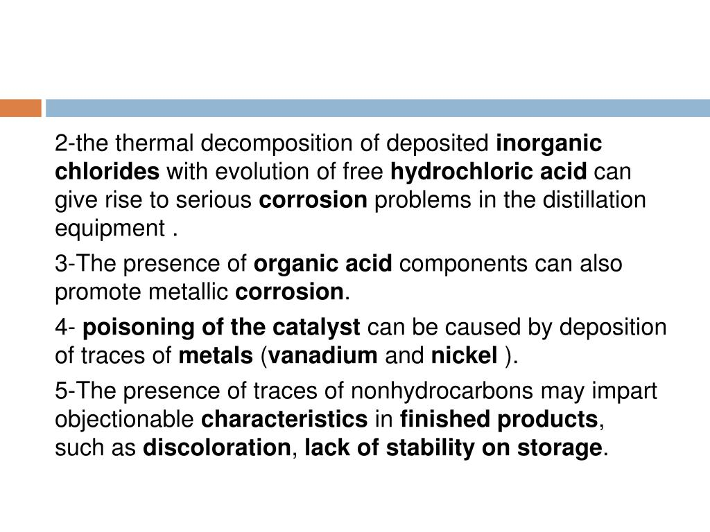 2-the thermal decomposition of deposited