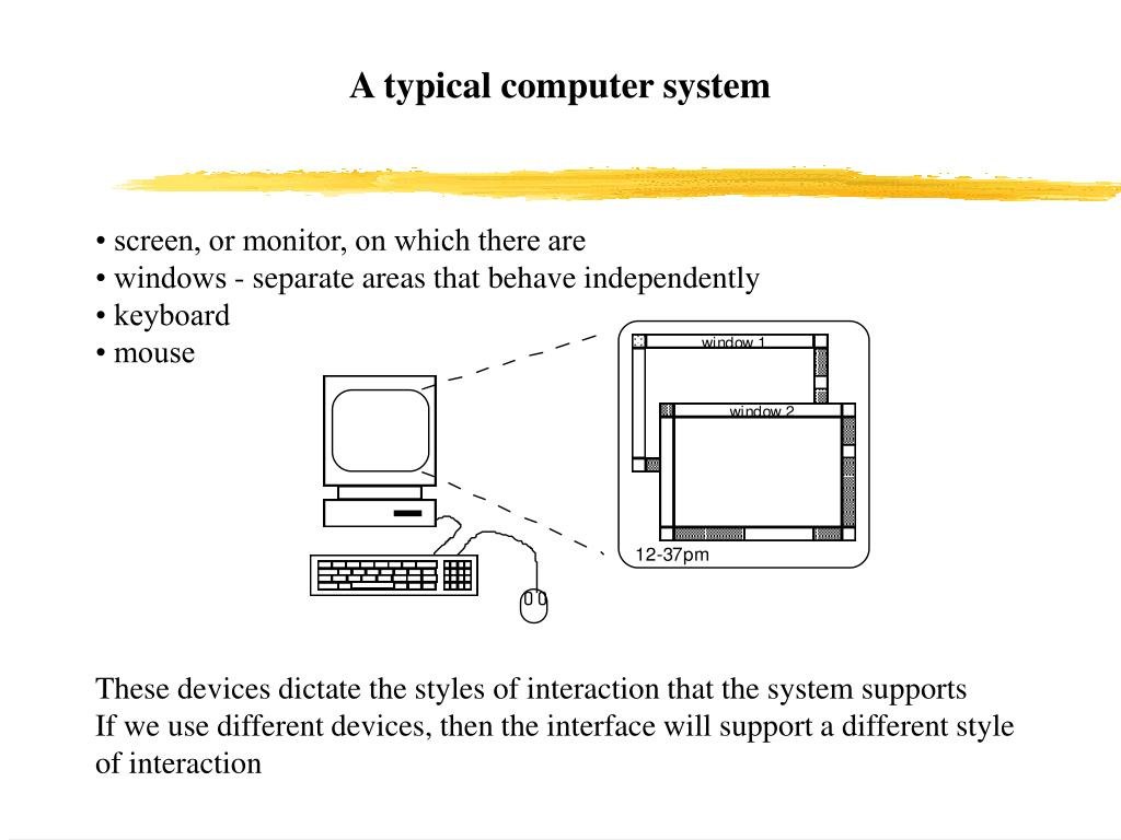 A typical computer system