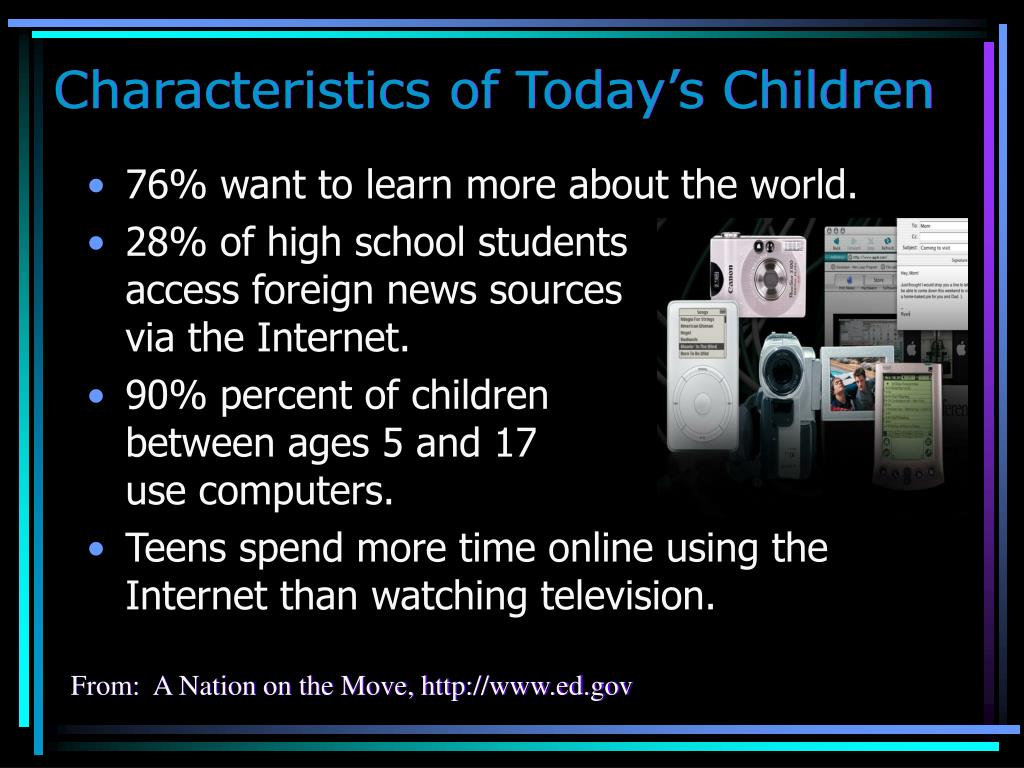 Characteristics of Today's Children