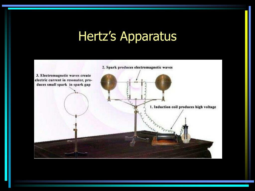 Hertz's Apparatus