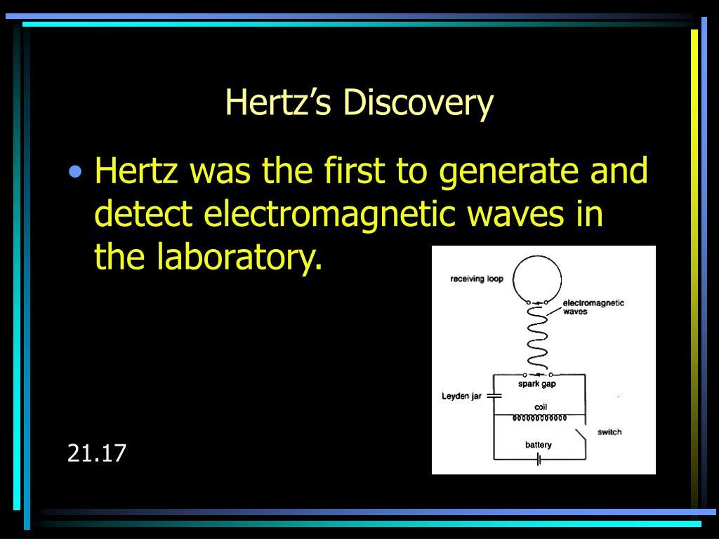 Hertz's Discovery