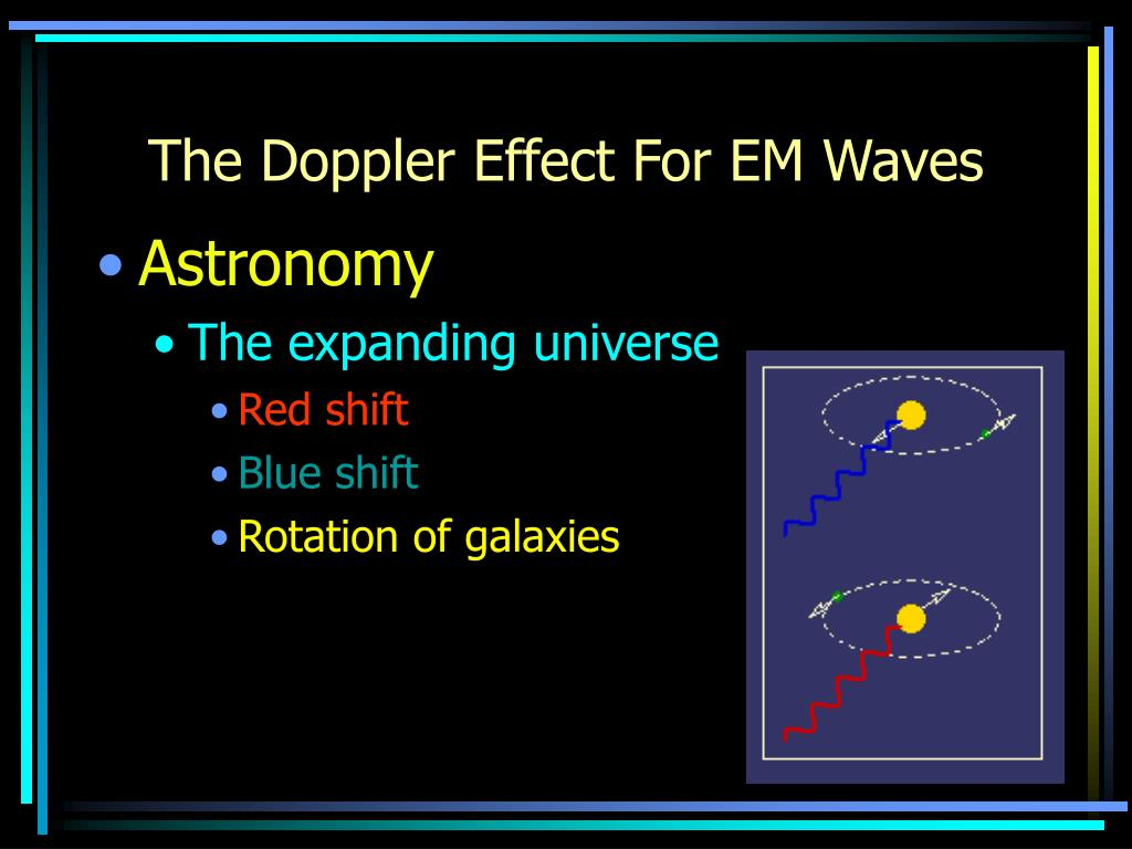 The Doppler Effect For EM Waves