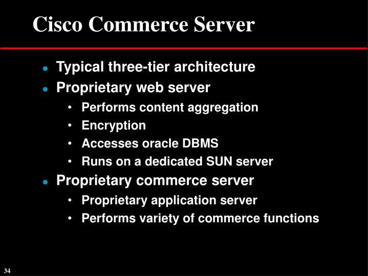 Cisco Commerce Server