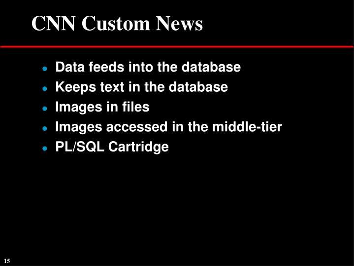 CNN Custom News